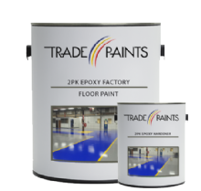 2 Pack Epoxy Factory Floor Paint